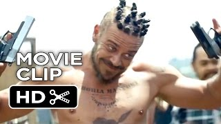 Chappie Extended Blu-ray Release CLIP - Gunfight (2015) - Neill Blomkamp Sci-Fi Action Movie HD
