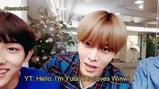 NCT Yuta showing his love to Winwin(cute moments)