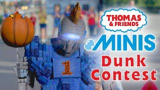 Basketball Dunk Contest with MINIS | Playing around with Thomas & Friends | Thomas & Friends