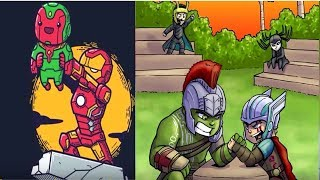 30+ Cute Baby Supereheroes Comics To Make You Laugh | Funny Marvel