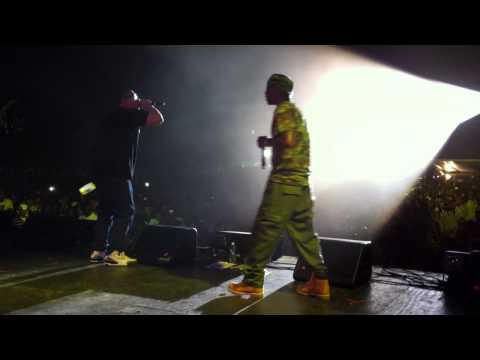 Nas and M.C Serch Rock the Bells 2011 - Back to the Grill Again