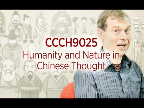 CCCH9025 Humanity and Nature in Chinese Thought