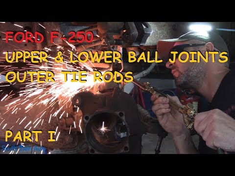 Ford F-250: Ball Joints & Tie Rod Ends - Part I