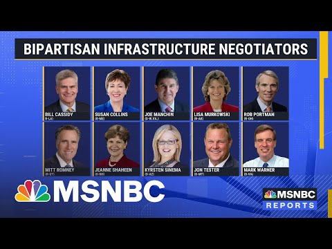 Bipartisan Group Of Senators Reaches Tentative Infrastructure Deal