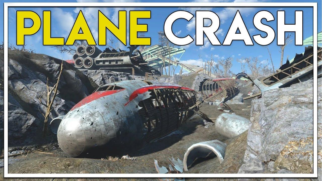Exploring A Crashed Plane Military Bunker Fallout 76 Beta