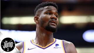 Deandre Ayton's suspension is an absolute false start for him & Suns - Brian Windhorst | The Jump