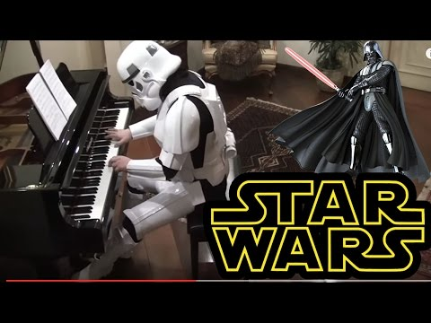 Starwars, The Imperial March on Piano   Darth Vaders Theme
