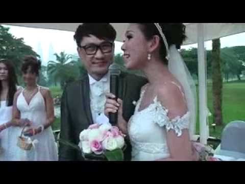 Tony & Evelyn Romantic Wedding