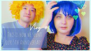 [국제부부] [브이로그] Vlog 1 우리의 기념일 데…