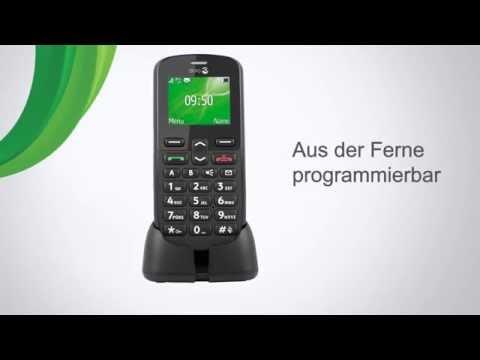 Doro PhoneEasy 508 - Einfaches Großtasten Handy mit Notruftaste