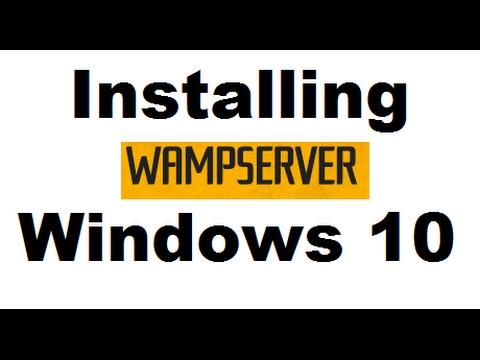 Install WAMP Server 3.0.6 on Windows 10 x64 bit - Step by step