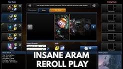 INSANE ARAM REROLL PLAY!!!