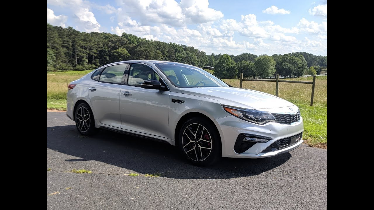 2019 Kia Optima First Drive Review S Midsize Sedan Stung With Stinger Dna
