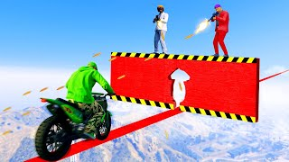 PRECISION Snipers vs. BIKES Challenge! (GTA 5 Funny Moments)