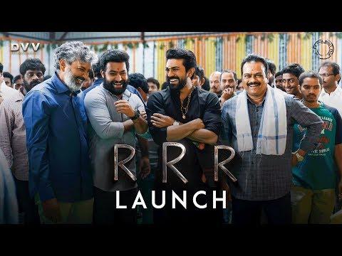 RRR Launch Video - NTR, Ram Charan | SS Rajamouli