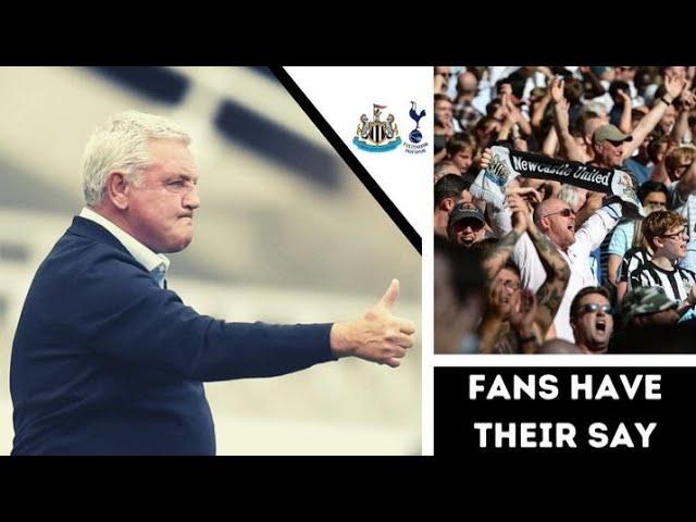 Fan Reaction Show   Newcastle United - Tottenham