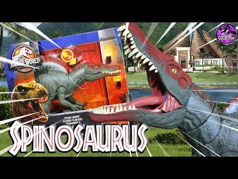 SPINOSAURUS   Jurassic World: Fallen Kingdom   Mattel Toys Review