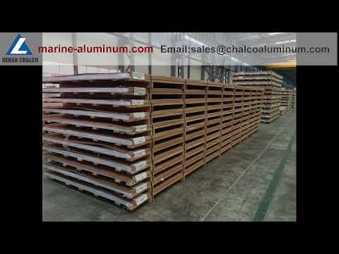 6061 marine grade aluminium alloys sheet and plate for ships factory