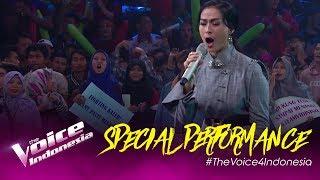 Hello Dangdut (Rita Sugiarto) - Iis Dahlia Performance | Semifinal | The Voice Indonesia GTV 2019