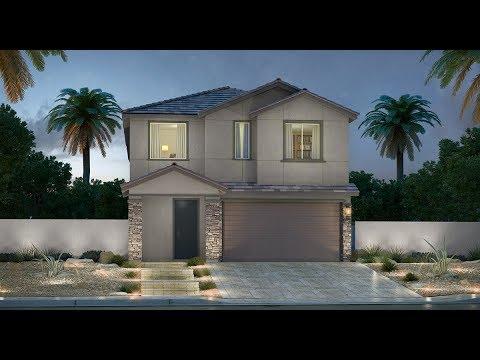 Review New Homes Lennar's Model: Lily Series 2 Magonlia Rose Ridge Community Henderson, NV