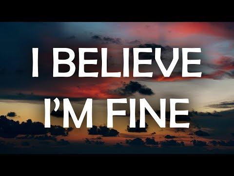 Robin Schulz & Hugel - I Believe I'm Fine (Lyrics / Lyric Video)