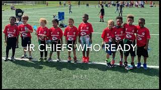 Jr Chiefs Who Ready [Song By: ET] #YMCA #Chiefs #YouthFootball