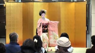 舞妓さんの舞「祇園小唄」(Ⅰ)@2013 SEIBU所沢店京のれん市