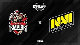 Team Empire vs. Natus Vincere - Border - Rainbow Six Pro League - Season X - EU