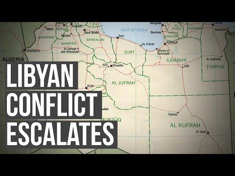Maritime disputes spur civil war in Libya