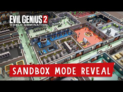 Evil Genius 2: World Domination – Sandbox Mode