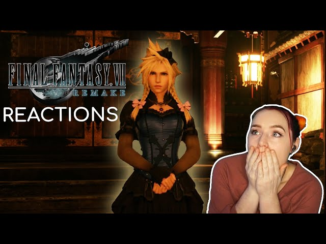 CLOUD IS SO PRETTY | FF7 Remake Reaction Highlights!