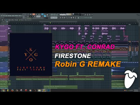 Kygo Ft. Conrad - Firestone (Original Mix) (FL Studio Remake + FLP)