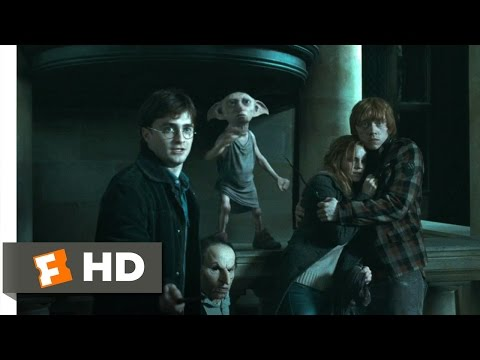 Harry Potter and the Deathly Hallows: Part 1 45 Movie   Escape From Malfoy Manor 2010 HD