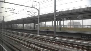 【車窓】東海道新幹線 こだま659号 東京→名古屋