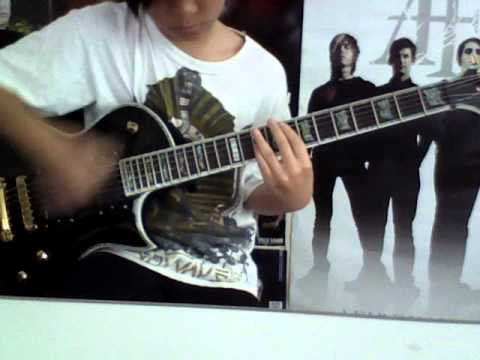 The Aftermath (The Guillotine Part 3) - Escape The Fate  Guitar Cover (WITH SOLO)