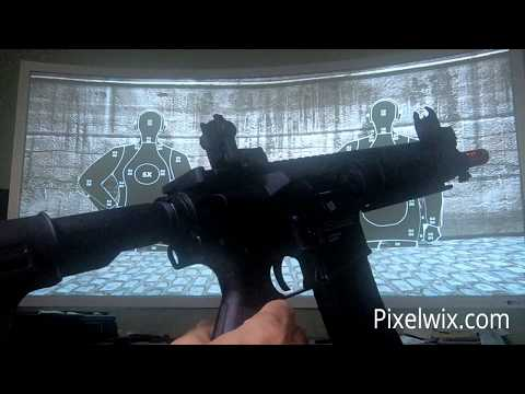 Pixelwix IR Recoil Training Firearms overview.