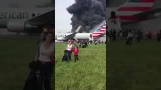 SCARY AMERICAN PLANE CRASH