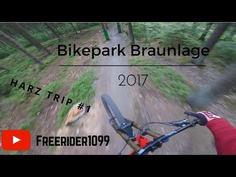 Bikepark Braunlage 2017 (Harz trip #1)