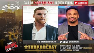 ☎️Canelo vs Ward a 175 LB Necessity🔥 Walk Off into Sunset Fight❓