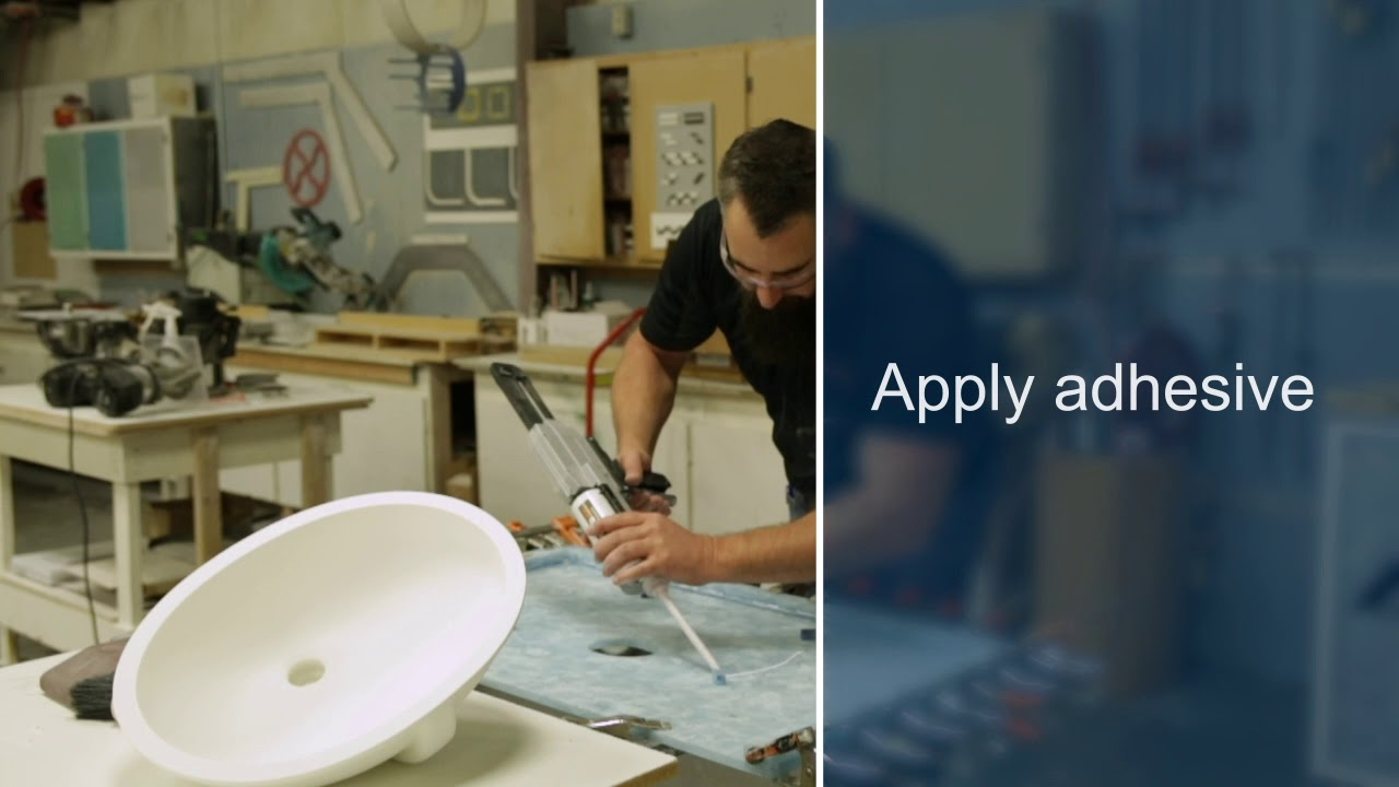 Merveilleux How To Install Composite Sink Into Avonite Surfaces® And STUDIO Collection®