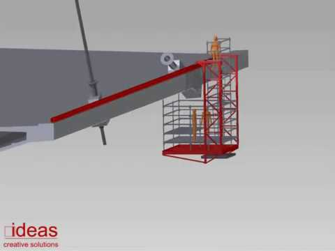 Sss Suspended Scaffolding System Youtube