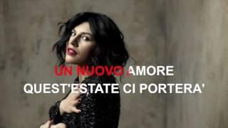 Giusy Ferreri - Partiti adesso - Karaoke con testo