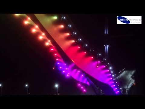 Pont y Ddraig, Rhyl Illumination - Lighting Technology Projects