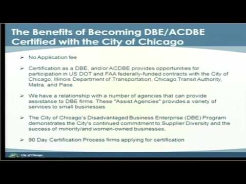 DPS The ABCs of DBE & ACDBE Certification - YouTube