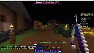 Skyblock on hypixel - Last coop stream? - Llamafied