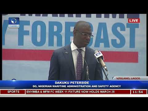 NIMASA Public Presentation Of Maritime Forecast For 2018/2019 Pt.6 |Live Event|