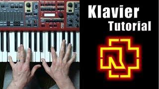 Rammstein Klavier  - Tutorial Piano | Разбор на пианино | Уроки фортепиано