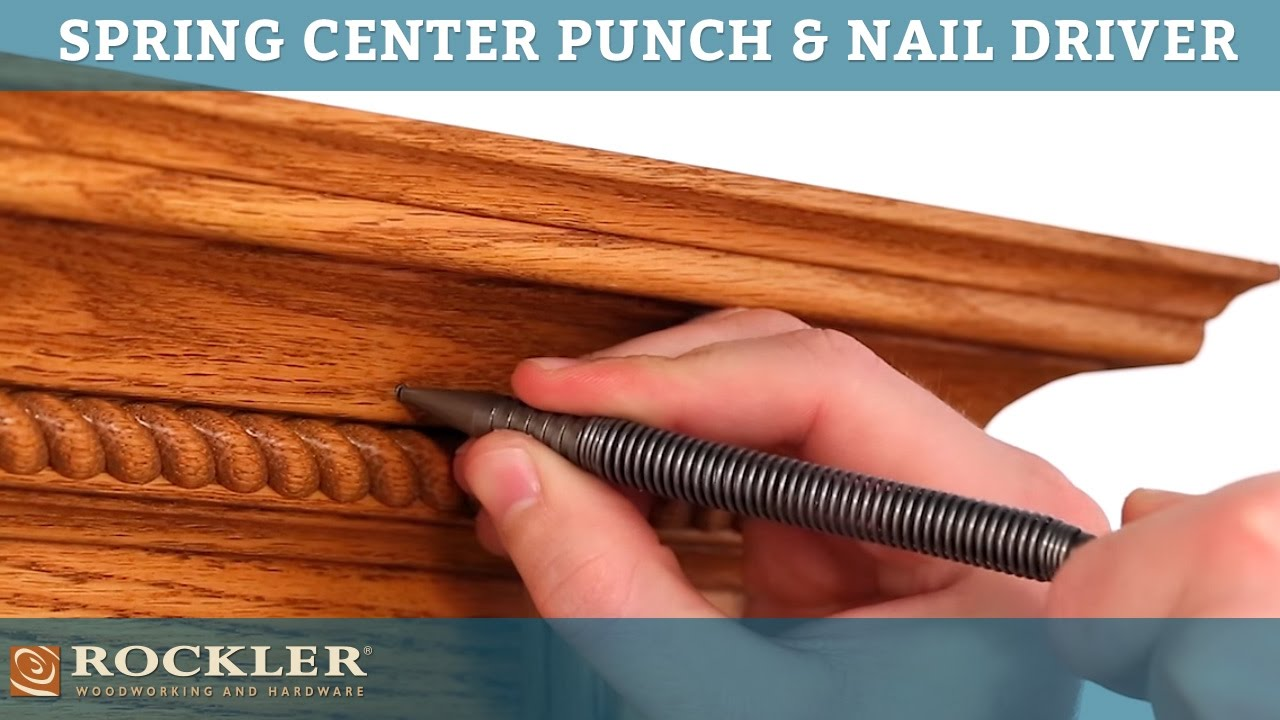 Spring Tool Set Center Punch And Finishing Nail Driver