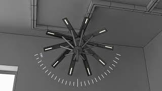 Модульная интерактивная система освещения для мастерских