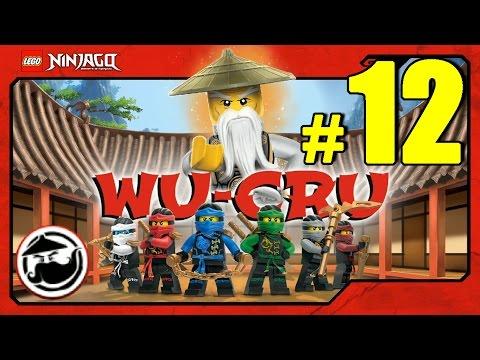 LEGO Ninjago WU-CRU Прохождение Игры Лего Ниндзяго на русском - 12 серия - ЗОЛОТЫЕ ЧЕШУЙКИ